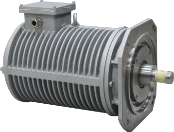 Roller table electric motor